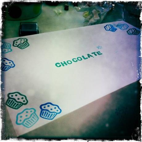 Gift box for chocolate trufffles