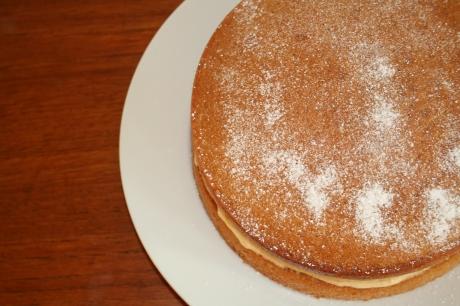 Icing Sugar Cake Top