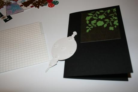 Sticky foam pads