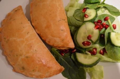 Vegetarian Sweet Potato and Feta Pasties