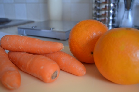 Carrots and oranges