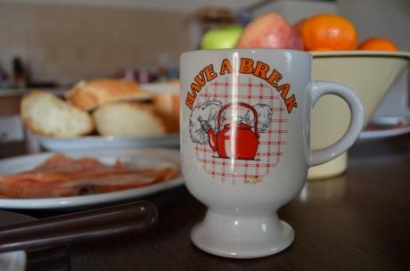 Have a break tea cup