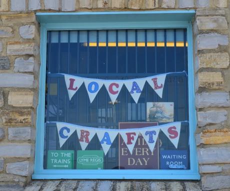 Local Crafts Shop Window