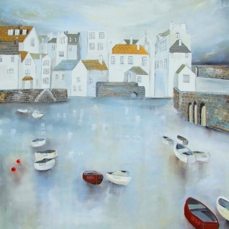 Lucy Young - Harbour Reflections II