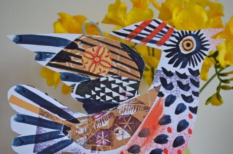 Mark Hearld Paper Bird