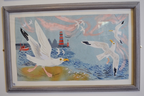 Mark Hearld Seagulls Art