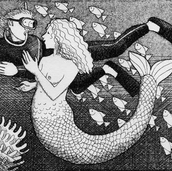 Small Mermaid - Frans Wesselman