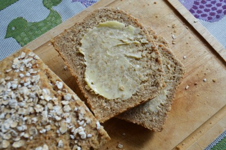 Oatmeal Bread Slices