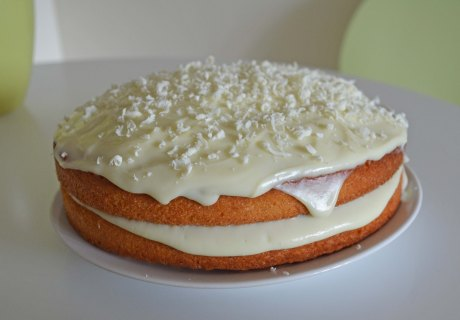 Orange and White Chocolate Cake