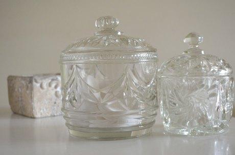 Two Crystal Jars