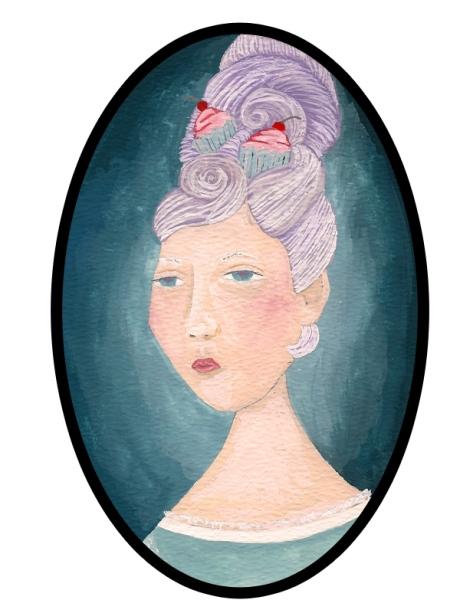 Lady Cupcake Hair