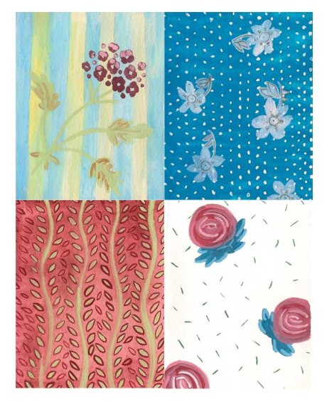 Illustrated Quilt Fabrics