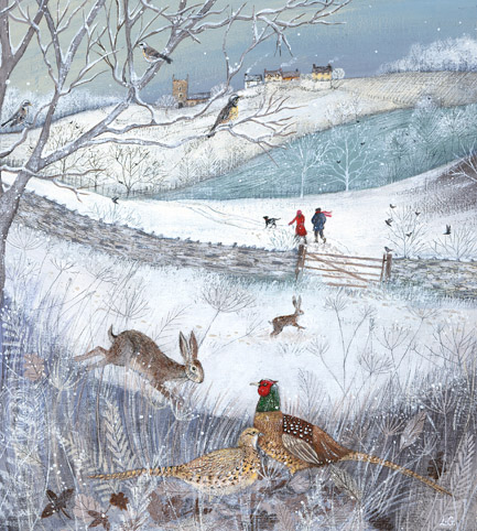 Walking in the Snow - Lucy Grossmith