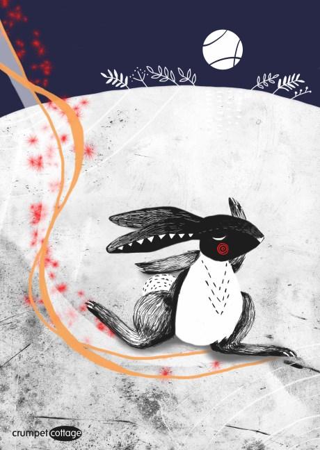 Rabbit Spirit Illustration