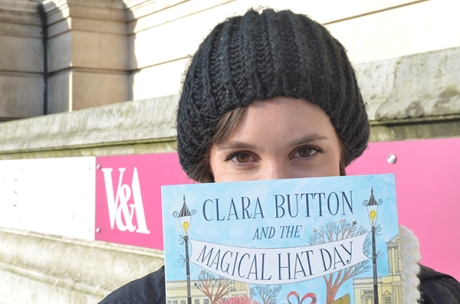 Kate Crumpet visits Clara Button at the V&A